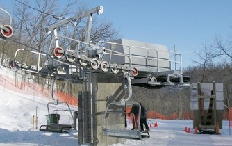 """Ecodrive"" chairlift"
